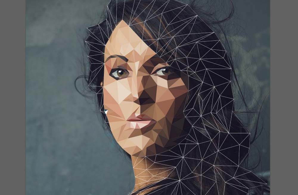 low poly effect 1 ماهو فن لو بولي Low poly