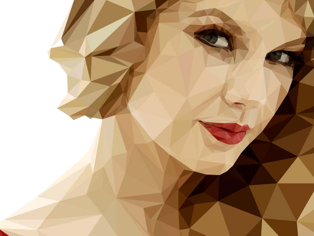 low poly effect 5 ماهو فن لو بولي Low poly