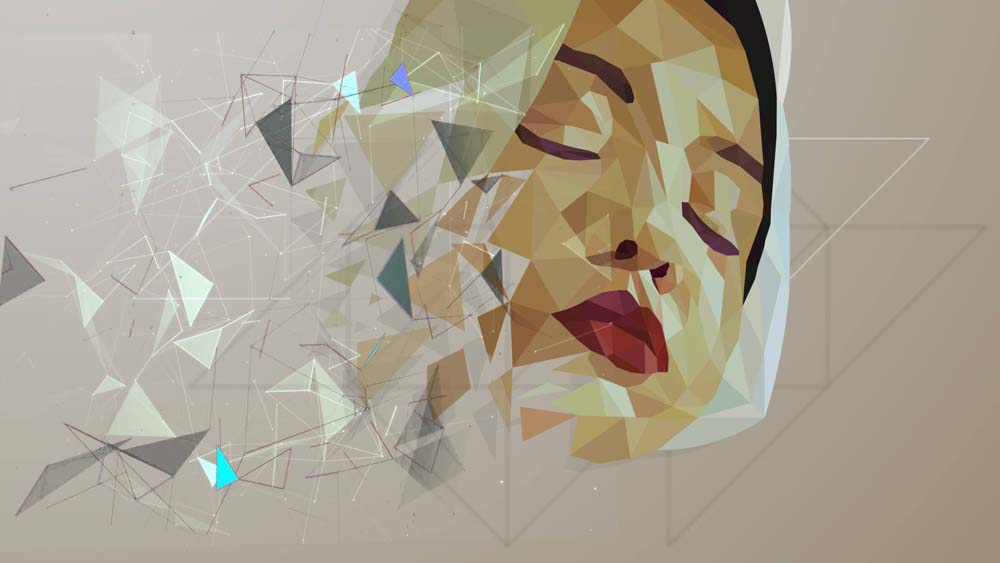 low poly effect 6 ماهو فن لو بولي Low poly