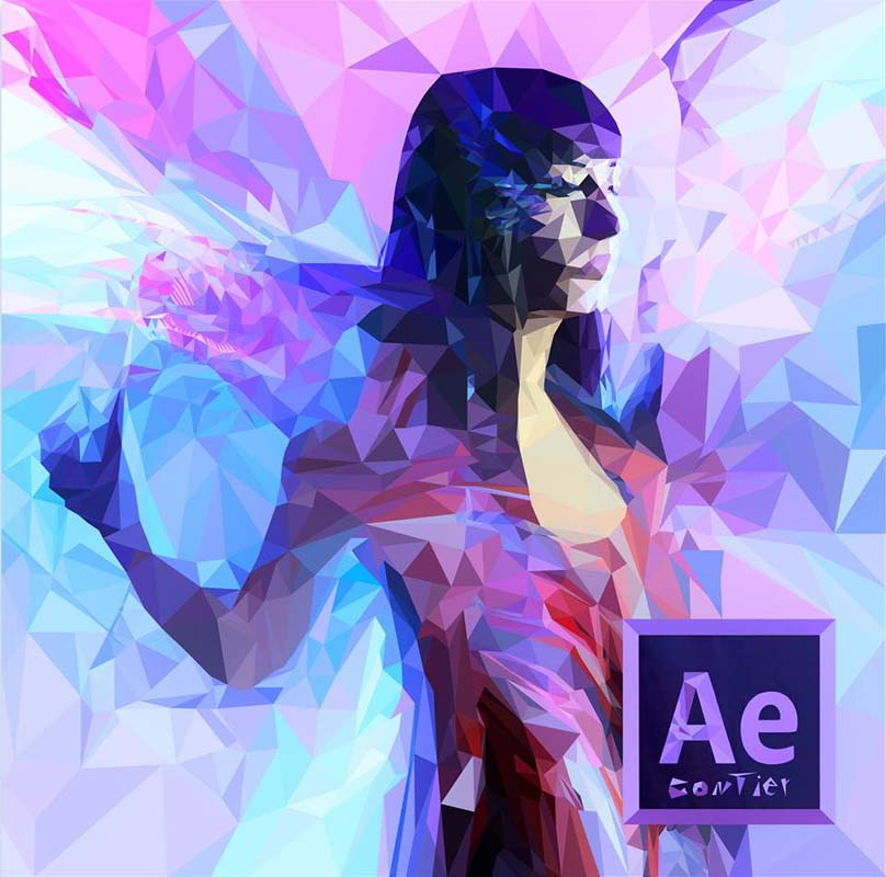 low poly effect 7 ماهو فن لو بولي Low poly