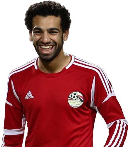 Mohamed Salah swishschool.com1  صور لاعيبه منتخب مصر مفرغه PNG Renders