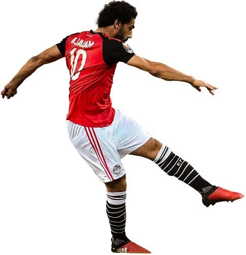 Mohamed Salah swishschool.com  صور لاعيبه منتخب مصر مفرغه PNG Renders