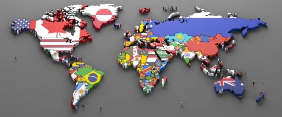 خريطه العالم 3d لماذا سميت القارات باسمائها الحاليه ؟