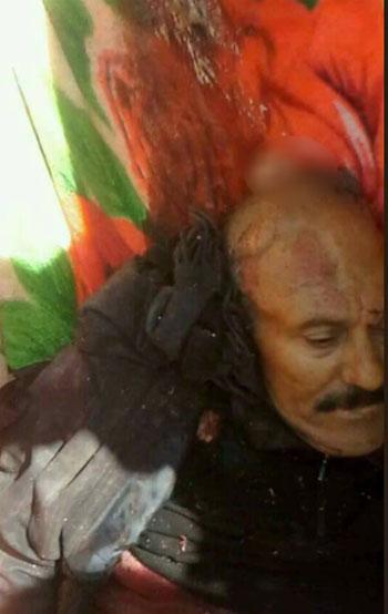 مقتل علي عبد الله صالح 1 مقتل على عبد الله صالح
