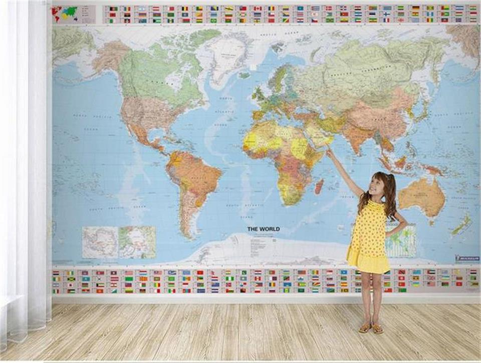 Map of the World لماذا سميت القارات باسمائها الحاليه ؟