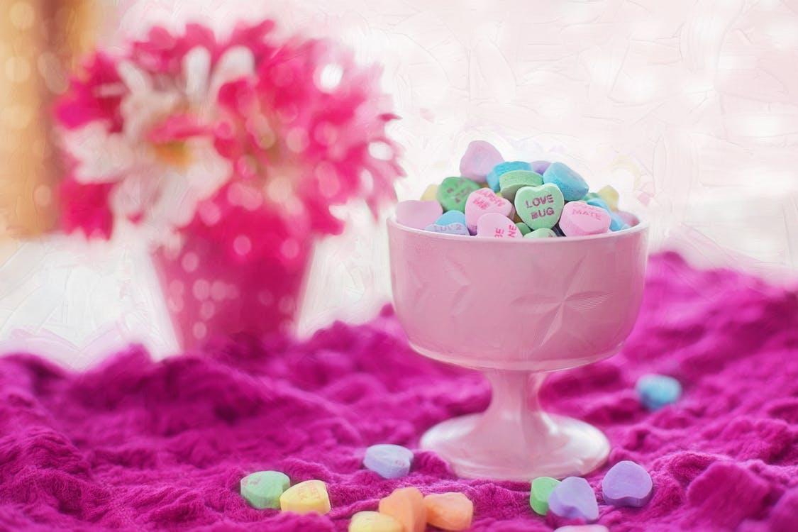 valentine candy hearts 2 صور قلوب مصنوعه من الحلويات