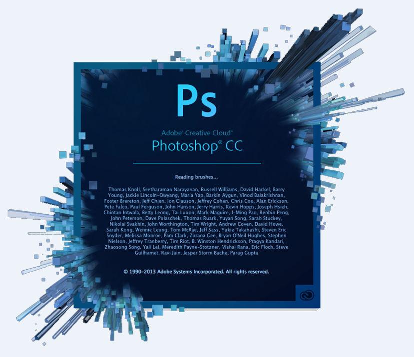 الاصدار الجديد من برنامج التصميم العملاق فوتوشوب 2014 cc