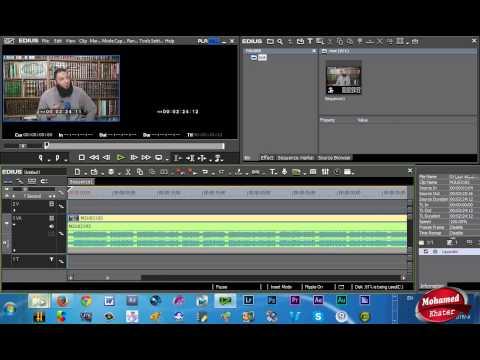 برنامج الايديوس 7.2 Edius برنامج المونتاج التلفزيوني يعمل على 64 بت فقط