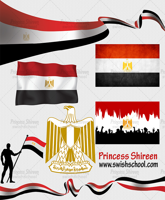 كولكشن صور علم مصر بدون خلفية عالية الجودة للتصاميم السياسية ويفط الدعاية الانتخابية حصرى على مدرسة جرافيك مان