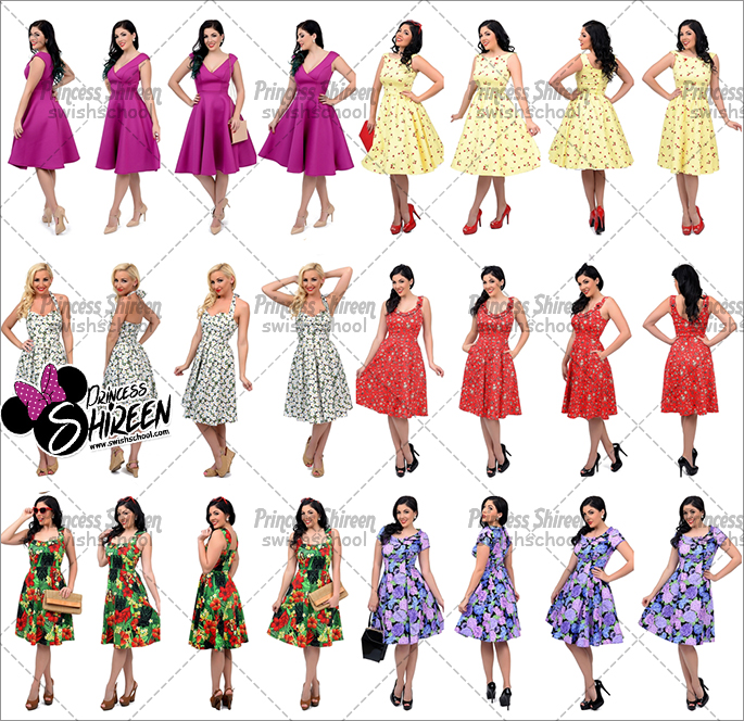 كولكشن موديلز فتيات عالية الجودة للتصميم من تجميع Princess Shireen الجزء الثالث