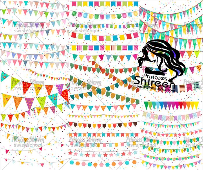 اكبر كولكشن زينة رمضان من تجميع Princess Shireen خاص وحصرى لمدرسة جرافيك مان جديد 2016