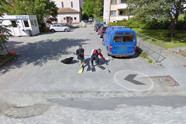 شاهد اغرب صور تم تصويرها بعدسه جوجل في مشروع street view