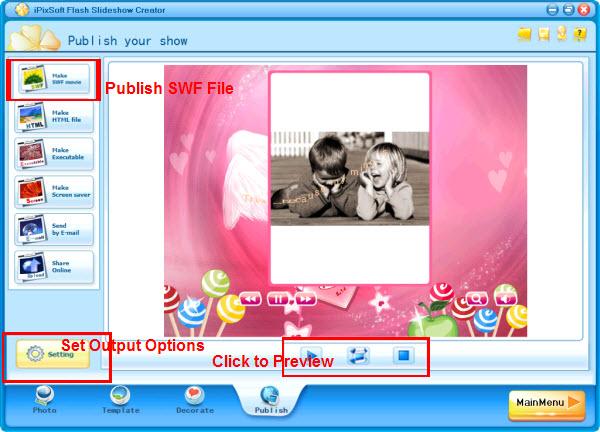 برنامج لعمل البوم فلاشي, البوم فلاش بتأثيرات روعة, برنامج لعمل البوم صور بالفلاش
