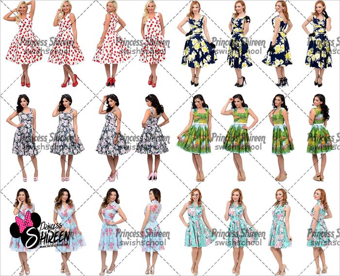 كولكشن موديلز فتيات عالية الجودة للتصميم من تجميع Princess Shireen الجزء الرابع