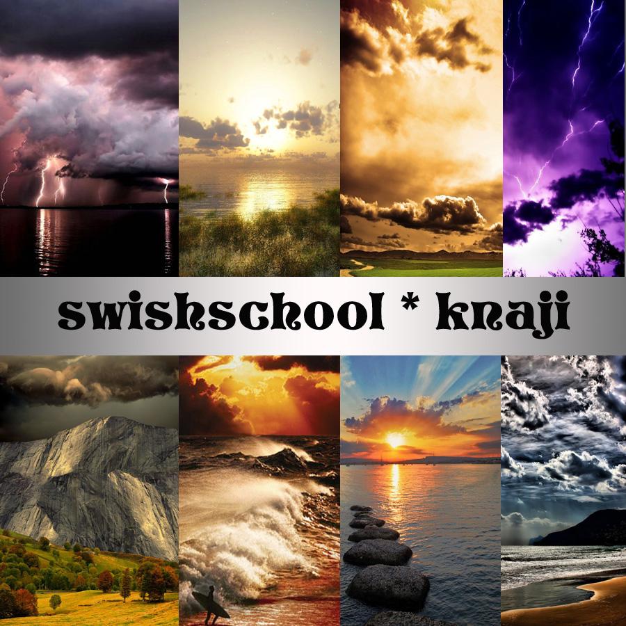 خلفيات لاجمل مناظر الغيوم والغروب الطبيعيه 2015