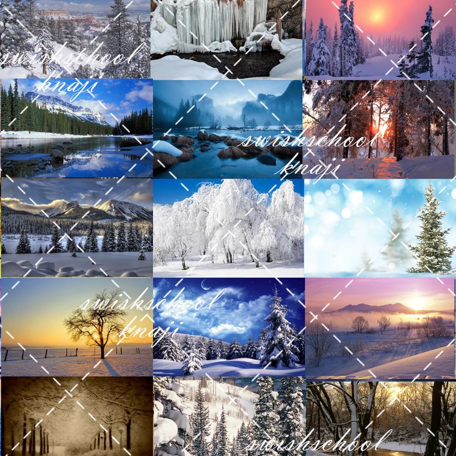 مناظر رائعه للثلوج بجوده عاليه 4