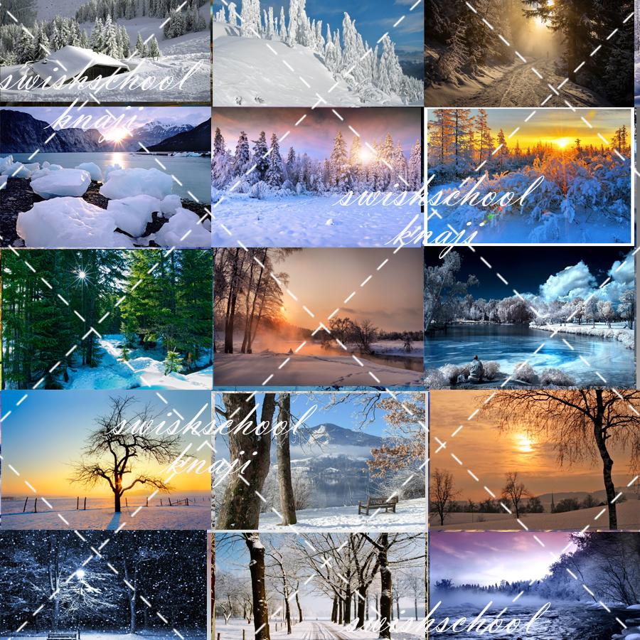 مناظر رائعه للثلوج بجوده عاليه 5