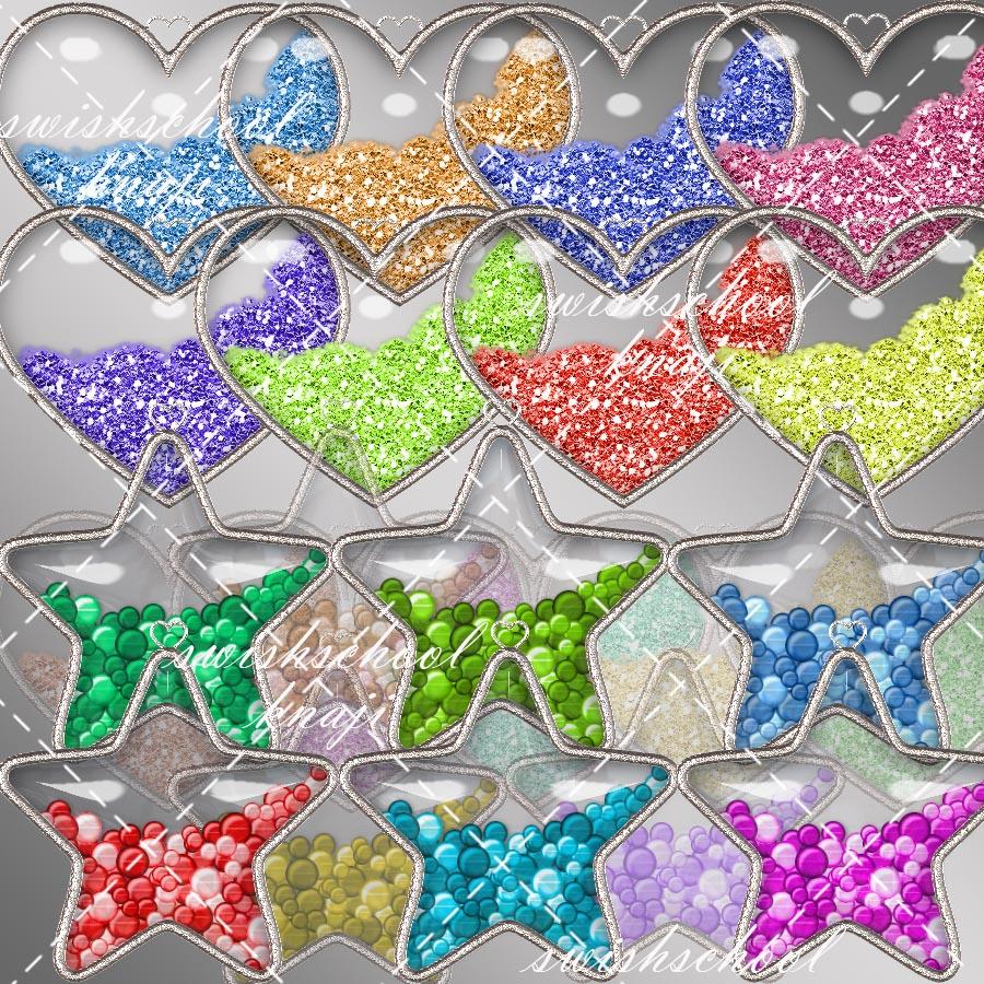 قلوب ونجوم مع اجمل الاضافات واجمل الالوان 2015