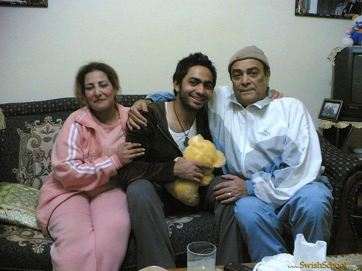 صور أم تامر حسني صورة أبو تامر حسني صوره عائله تامر حسنى