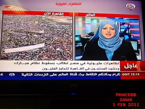التظاهرات المليونية 1 فبراير 2011