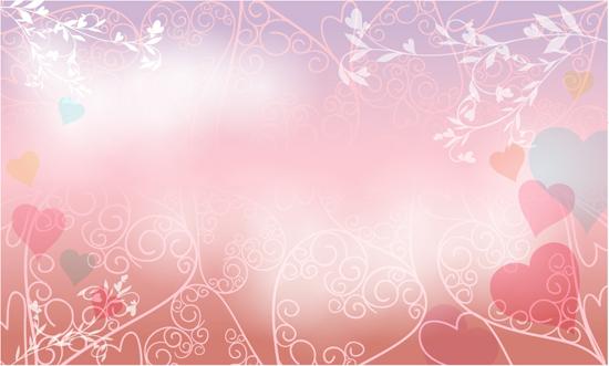 خلفيات فكتور لعشاق التميز والجمال Dream wedding vector background