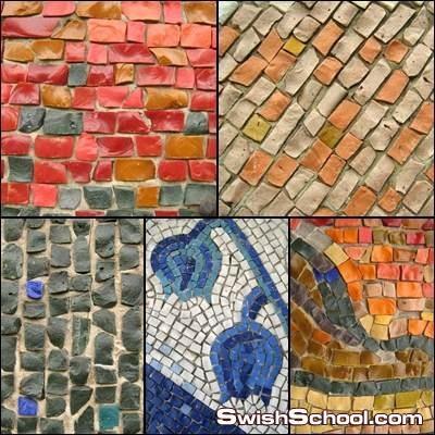 35 Mosaic HQ Backgorund خلفيات فسيفساء بجودة عالية