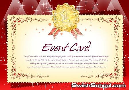 Even Card ملف مفتوح psd