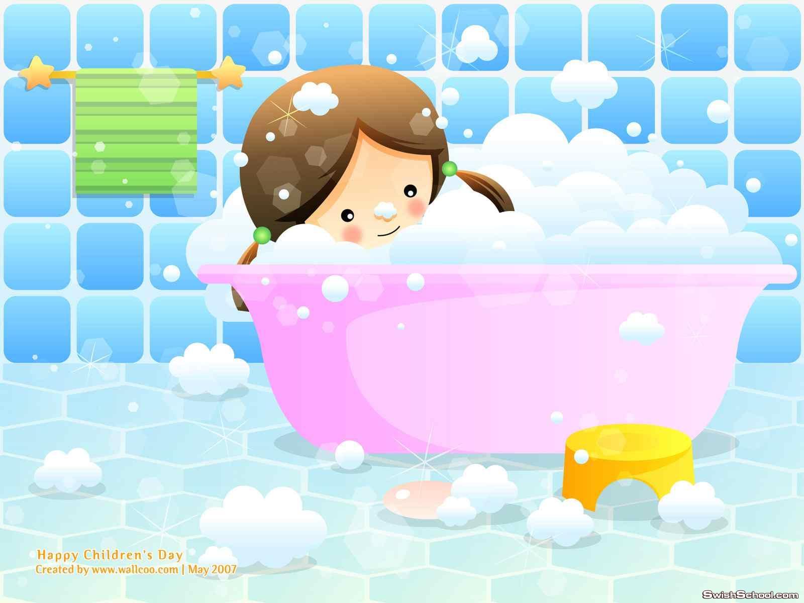 بليز خلفيات بانيو استحمام