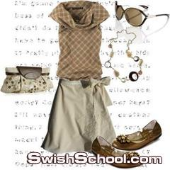 ملابس بنوتات كيوت لصيف 2011