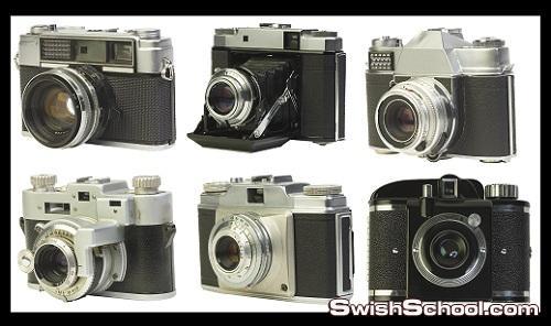 ملف مفتوح لكاميرات Cameras PSD