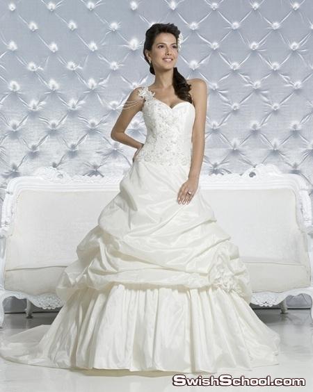 فساتين زفاف كلاسيكية رائعة 2011