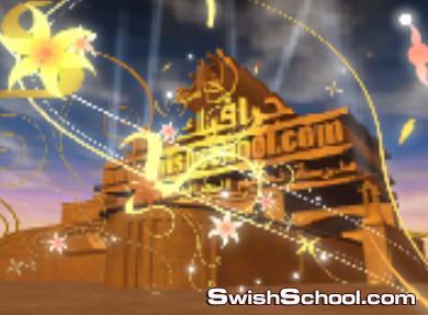اجمل خلفيات الفيديو للالعاب الناريه والاضواء اللامعه وColor Sparks