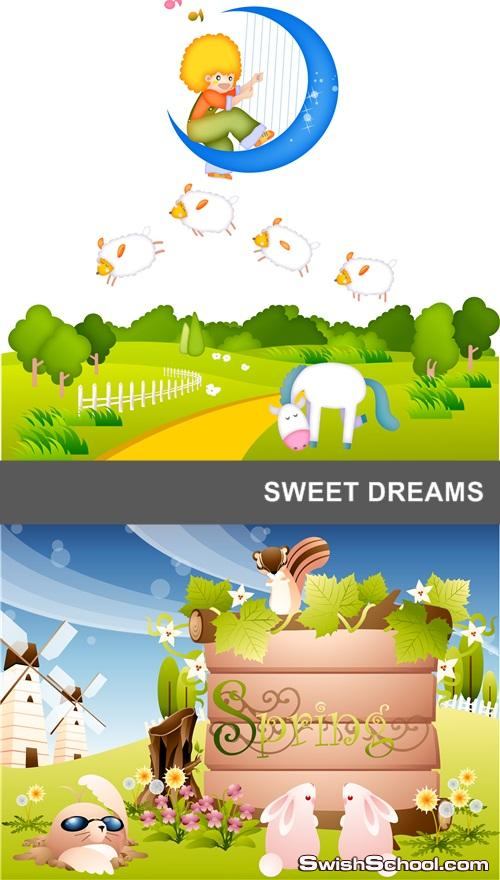 خلفيات فيكتور احلام جميله sweet dreams eps