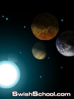 شاشه توقف المجموعه الشمسيه للجيل الثالث Galaxy