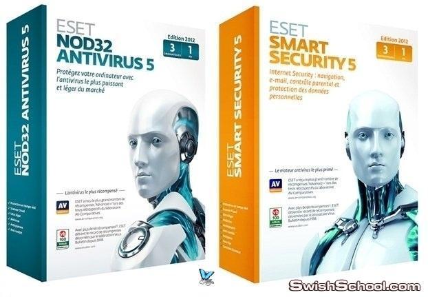 اقوى برامج الحماية ESET 5.0.94.0 - NOD32 Antivirus - Smart Security رفعي الخاص على اكثر من سيرفر اخر اصدار على مدرسة جرافيك مان