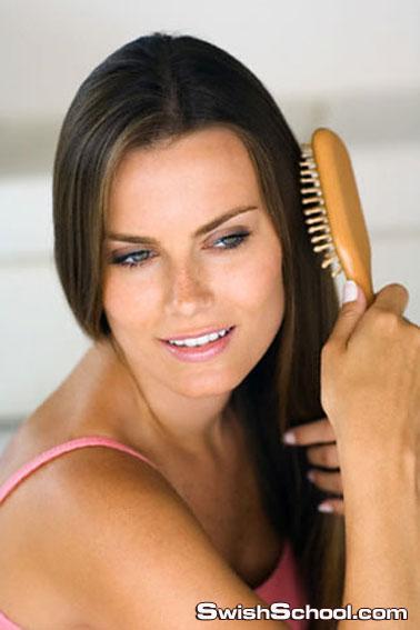 تقويه جذور الشعر