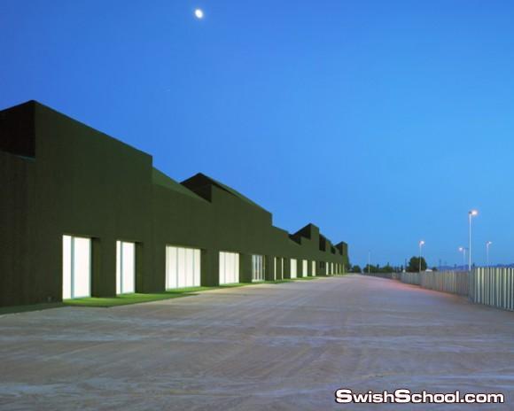 تصميم لمدرسة اشبه بملعب جولف في اسبانيا