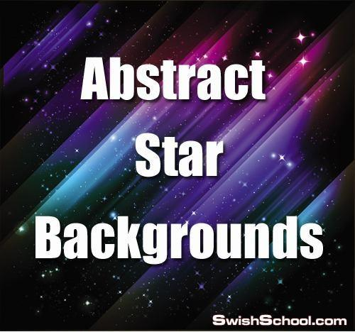 خلفيات فيكتور ابداعيه بنجوم لامعه ساحره Abstract Star Backgrounds