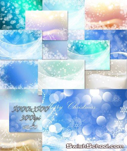 خلفيات زهور زرقاء  Abstract Blue Floral Background