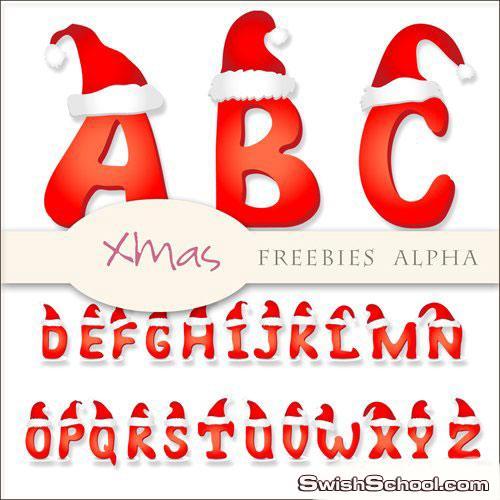 حروف عيد الميلاد