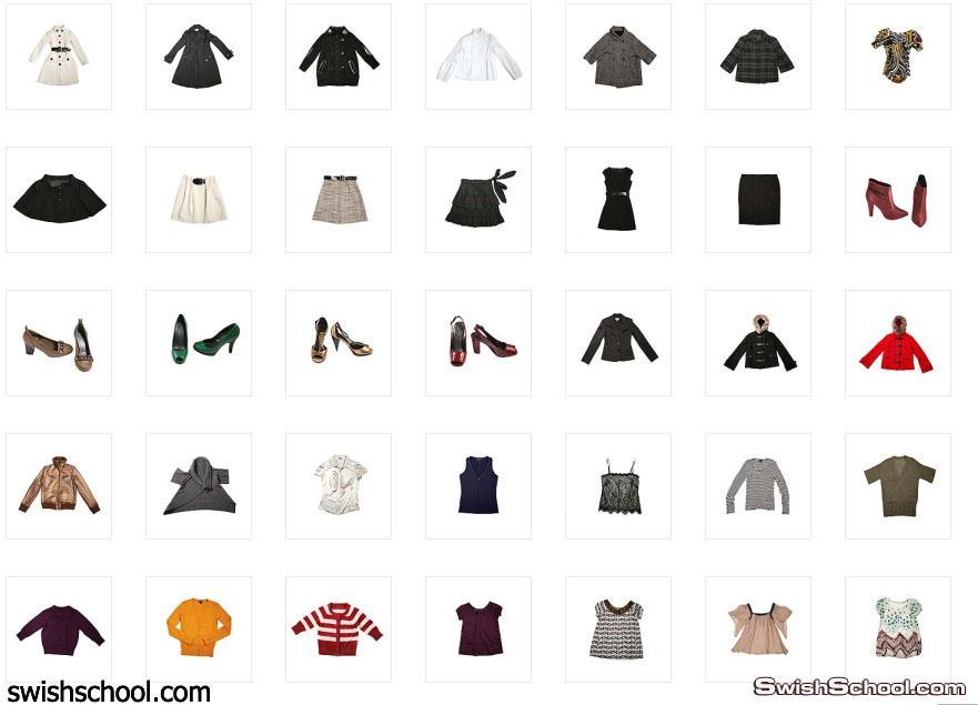 نادر جدا صور لمختلف انواع  الملابس : المعاطف و والفرو  و الأحذية والأحذية. واكسسورات جميله  2012