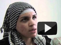 فيديو شهادة غادة كامل الفتاه التي تم سحلها من قبل الجيش