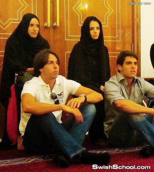 اللاعب البرازيلى كاكا يشهر إسلامه في دبي قبل 2012