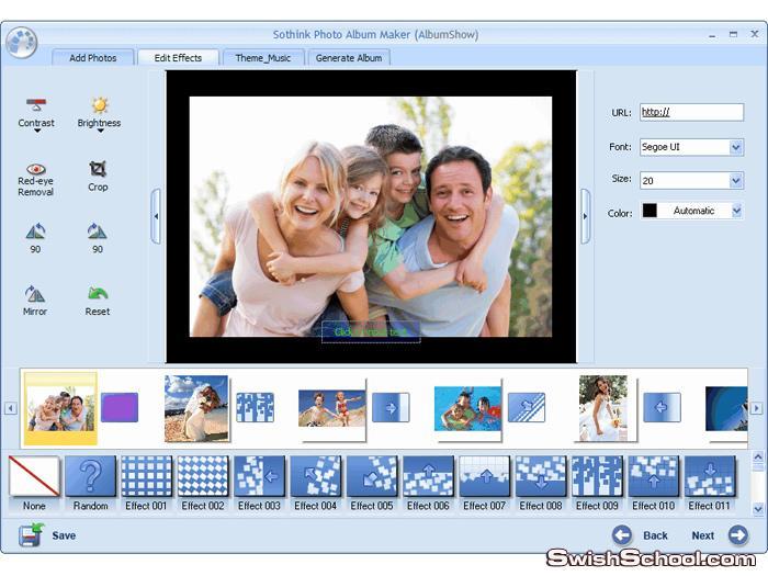 Sothink Photo Album Maker برنامج لعمل البومات من صورك الشخصيه 2012