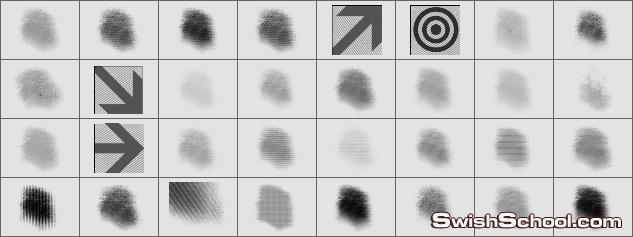 فرش علامات واشارات وبصمات 2012  Screens and Stamp Brushes