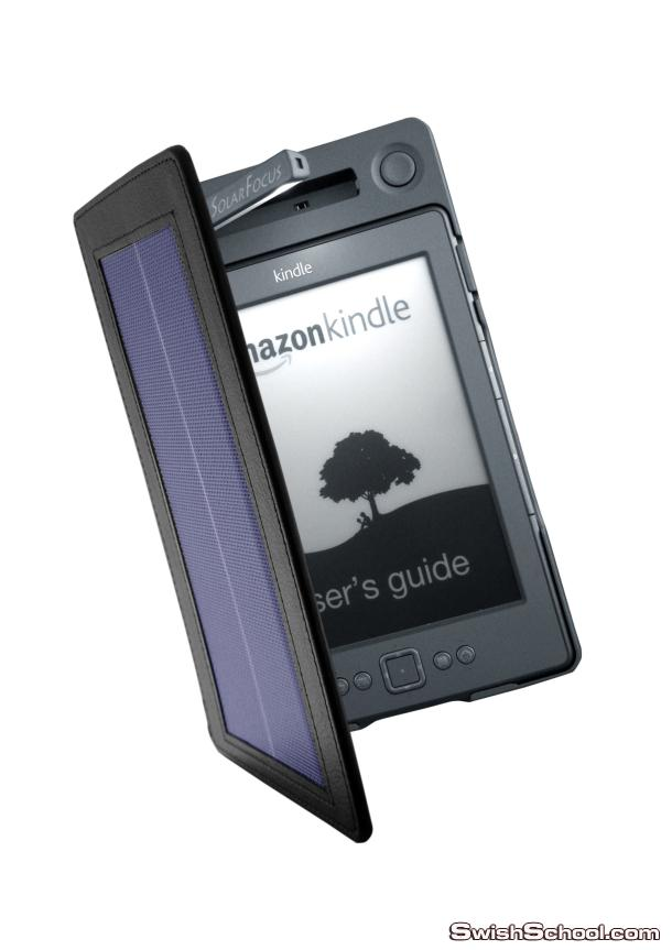 Solar-powered Kindle cover dropping at CES