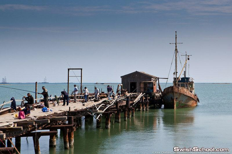 صور منارات بحر قزوين Lighthouses Of The Caspian Sea