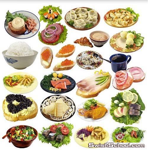 صور اطباق وجبات طعام بخلفيه شفافه Food & Dishes png