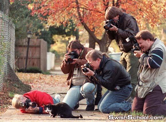 احدث طرق للتصوير صور طريفه للمصورين