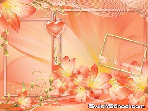 قوالب حب و رومانسيه للفالنتاين  PSD Valentines